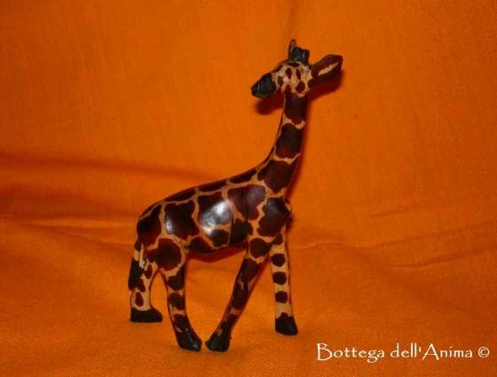 Giraffa legno